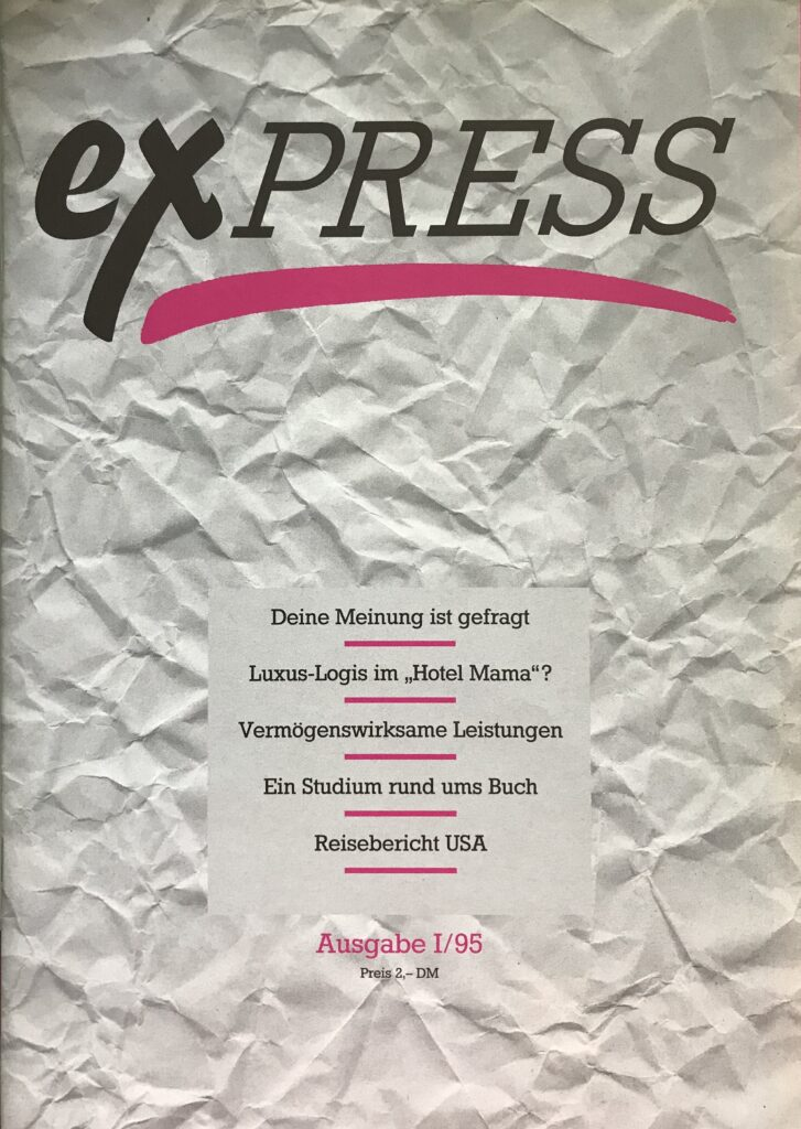 erste exPRESS-Ausgabe